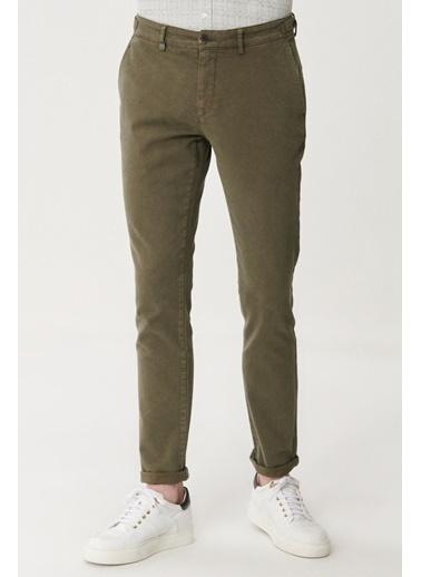 Beymen Business Slim Fit Pantolon 4B0121200038 Haki
